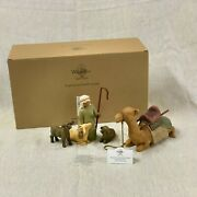 26105 Willow Tree Nativity Figures Shepherd And Stable Animals