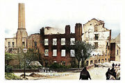 Ptc2239 - Lancs. - Delf Mill Completely Destroyed By Fire In 1906 - Print 6x4