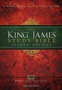 Kjv Study Bible, Large Print, Hardcover, Red Letter Edition Second Edition