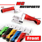 360 Adjustable Riser Front Foot Pegs For Ducati 1198 S/r/evo 10 11 12