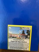 Blair Line N Scale Structure Kit - Clark Oil Gas Station Free Shipping New In Bx