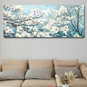 Modern Abstract Long Canvas Painting Pictures For Home Decoration Wall Art