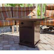 Outdoor Propane Fire Pit Fireplace Home Garden Bowl Table Heater Deck Patio
