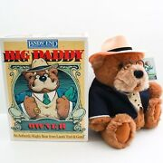 Lands' End Authentic Big Daddy Teddy Bear With Box By Gund - Limited Edition