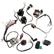 Electric Stator Engine Assembly Wiring Harness Kit For 90cc 110cc 125cc 50cc Gy6