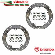 Discs Brembo Bmw R 850 Gs 2007 Brake Floating Pair Front Motorcycle Gold Series