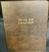 50 Year Old Silver Art Bar Collection 36 1 Troy Oz .999 Fine Silver Bars