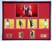 Fifth Harmony Group Signed Framed 16x20 Photo Set Ally Lauren Dinah Normandi