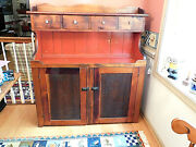 19th Century Dry Sink With Gallery