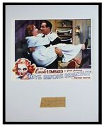 Preston Foster Signed Framed 16x20 Photo Poster Display Love Before Breakfast