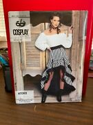 Mccalls Cosplay Sewing Pattern M2072 Hitched Saloon Girl - Easy Uncut - Sz 6-14