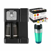 Cuisinart Ss-12 Coffee Center Brew Basics Coffee Maker With 96 Count Kcup Bundle