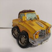 Piggy Bank Creative Money Cans Or Gift Ornaments Yellow Truck