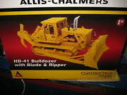 1/25 First Gear Allis Chalmers Model Hd-41 Bulldozer With Blade And Ripper 400163