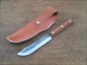 Rare Vintage Case Xx Carbon Steel Chef's Hunting Or Butcher Knife - A+ Condition