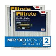 Filtrete 24x24x1, Ac Furnace Air Filter, Mpr 1900, Healthy Living Ultimate