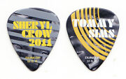 Sheryl Crow Tommy Sims Signature Guitar Pick - 2011 100 Miles From Memphis Tour