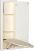 Household Essentials 18100-1 Stowaway Cabinet With Built In Ironing Board Cut In