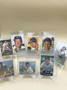 8 Topps And Bowman Baseball Cards From The 1950s