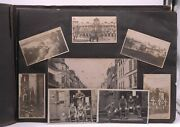 Collection Of 48 Pages Of Wwi Era Photos Military Mass Graves Germany France -