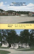 Golden Pond,ky Fisherman's One Stop On Kentucky Lake Kropp Trigg County Postcard