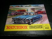 Original 1964 Matchbox Catalog Vw Coke Gift Set Usa Edition Complete And Unmarked