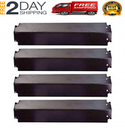4pcs Grill Heat Plate Replacement For Charbroil Kenmore Flame Tamer Burner Cover
