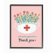 Stupell Industries With Appreciation Phrase For Healthcare Workers Wall Art 2...
