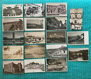 Pk62148real Photo Postcard Lot Of 18 Assorted Worldwide Foreign Views