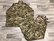 Crye Precision Army Sniper Ghillie Coat And Pant Base Layer - Multicam - Military