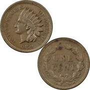 1859 Indian Head Cent Xf Ef Extremely Fine Details Copper-nickel Penny 1c Coin