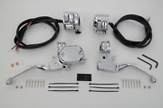 Handlebar Control Kit With Switches Chrome For Harley Sportster