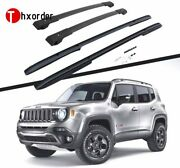 Roof Rack Cross Bars Fit For Jeep Renegade 2015-2020 Side Rails Cargo 4pcs
