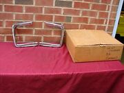 66 67 Dodge Charger Nos Lh And Rh Headlight Grille Surround Chrome Bezels