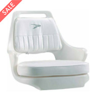Boat Seat Fishing Deck Captain Support Padded Pilot Chair Backrest Cushion Helm