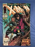X-men 266 First Appearence Of Gambit Signed By Cover Artist Andy Kubert Nm