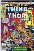 Marvel Two-in-one 22 Original Vintage 1977 Thing Thor