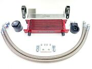 American Star Rzr 800-800s Complete Oil Cooler Kit W/stainless Steel Oil Lines