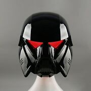 With Led Mandalorian Dark Trooper Helmet Airsoft Cosplay Helmet Without Battery