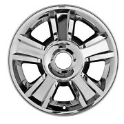 New Replacement 20 Chrome Clad Alloy Wheel Rim For 2009-2013 Chevy Trucks / Suv