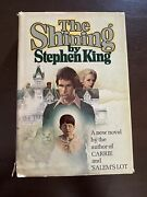 The Shining- First Edition- First Printing- Hardcover Dj 1977 -stephen King