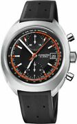 Oris Chronoris Black Dial Limited Edition 40mm Steel Menand039s Watch 67377394034rs