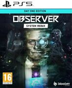 Observer System Redux - Day One Sur Ps5