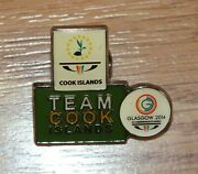 2014 Xx Commonwealth Games Team Cook Islands Collectible Rare Lapel Pin