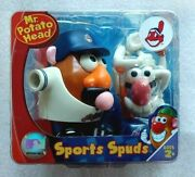 Mr Potato Head Cleveland Indians Sports Spud Sealed Banned Logos Chief Wahoo