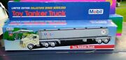 Mobil Toy Gas Tanker Truck Limited Ed. Collector Series Serialized New In Box