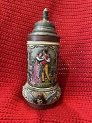 Thewalt Andldquoloving Coupleandrdquo Beer Stein. New From Germany. Never Used. Collectable