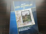 Led Zeppelin Iv 4 Japan Band Score Song Book Guitar Tab Jimmy Page Robert Plant
