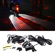 Motorcycle Angel Wing Led Tail Lights Kit Modification Parts Hd Projection