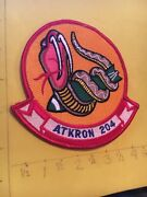 Us Navy Va-204 Fighter Attack Squadron Patch 7/17